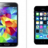 Review Dual  iPhone 5S vs Galaxy S5